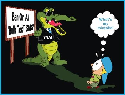 Trai Ban on Bulk SMS and MMS