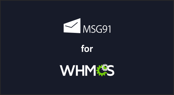 MSG91 WHMCS SMS Plugin for real-time notification