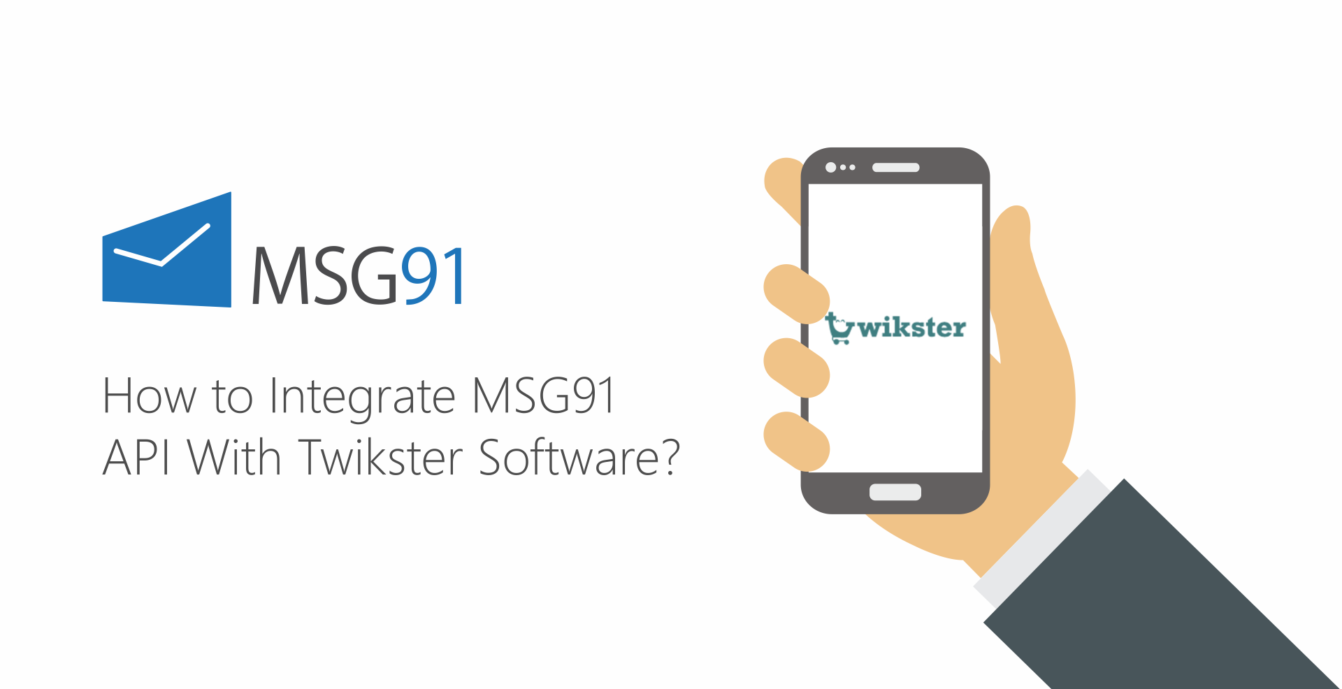 How to Integrate MSG91 API With Twikster Software?