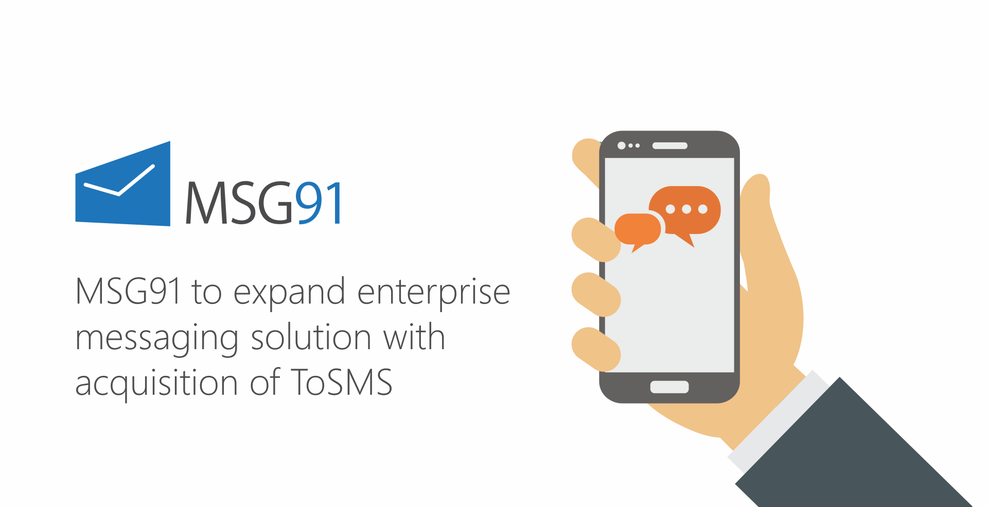 MSG91 to expand enterprise messaging solution with acquisition of ToSMS