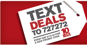 10 days of SMS deals
