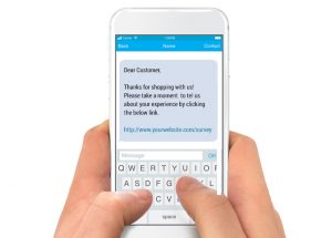 SMS feedback example