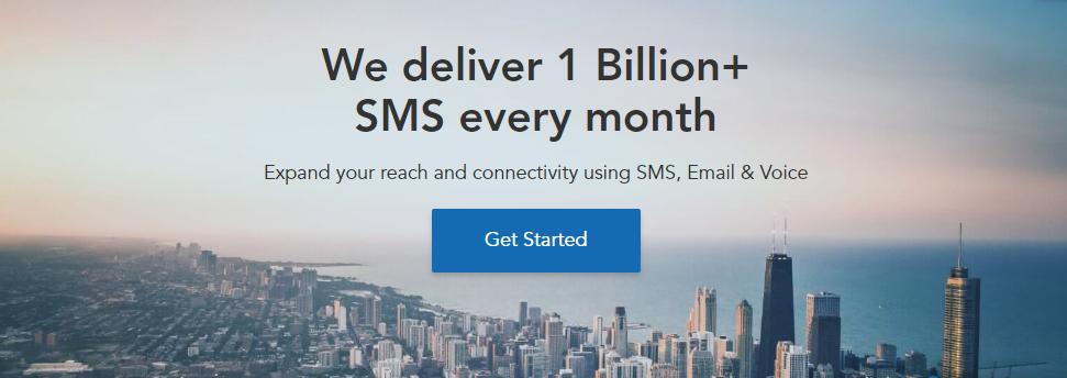1 Billion+ SMS/month