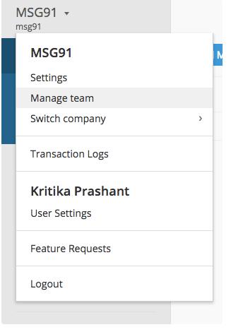 MSG91 Panel